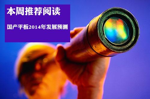 国产平板2014年发展预测