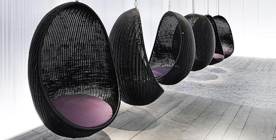 设计独特的EGG吊椅