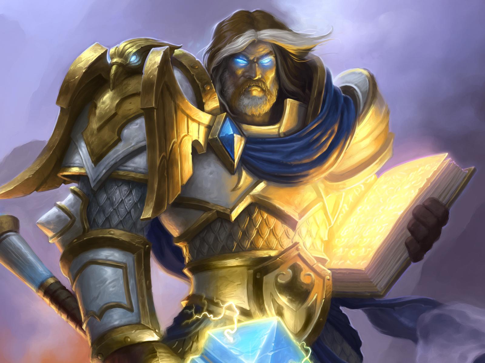 炉石传说小编逗比视频:圣骑士的神抽逆转胜