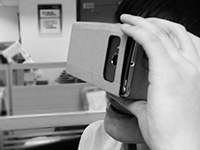 廉价虚拟现实体验Google Cardboard上手试玩