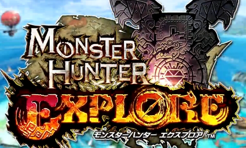 CAPCOM手游新作《怪物猎人EXPLORE》