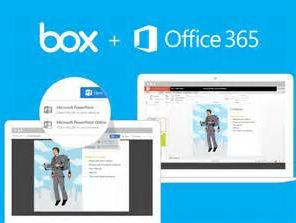 微软与Box合推Box for Office Online服务