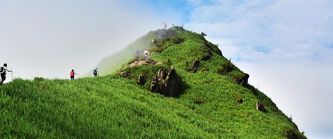 记录山那边的迷人风景 尼康D5500武功山行