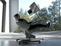 躺着站着也能办公!Altwork Station办公椅