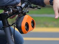 Loud Mini:能与汽车比分贝的自行车鸣笛器