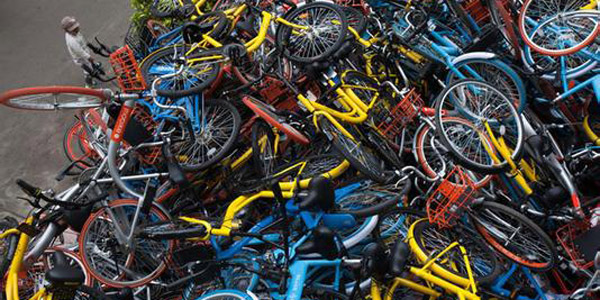 共享单车很好 但是现在要考虑如何挣钱了