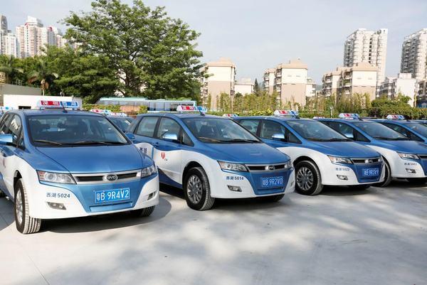 纯电动出租车