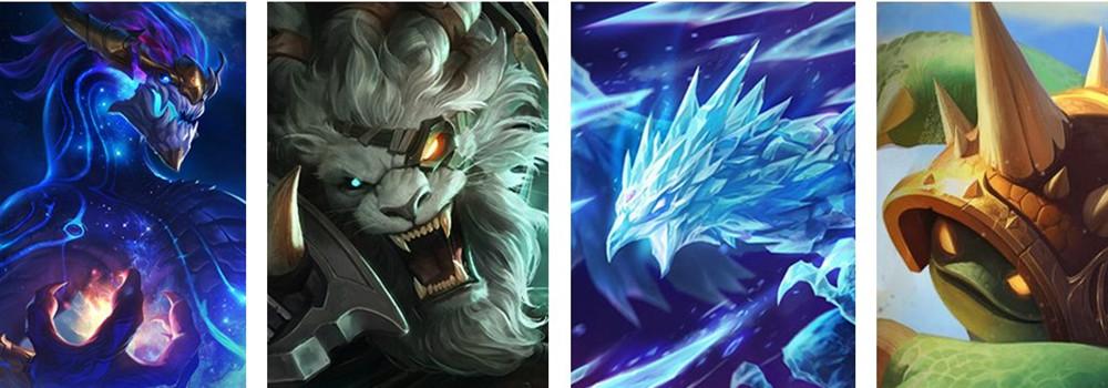 《英雄联盟》也有四大神兽?四圣兽皮肤或许不是梦