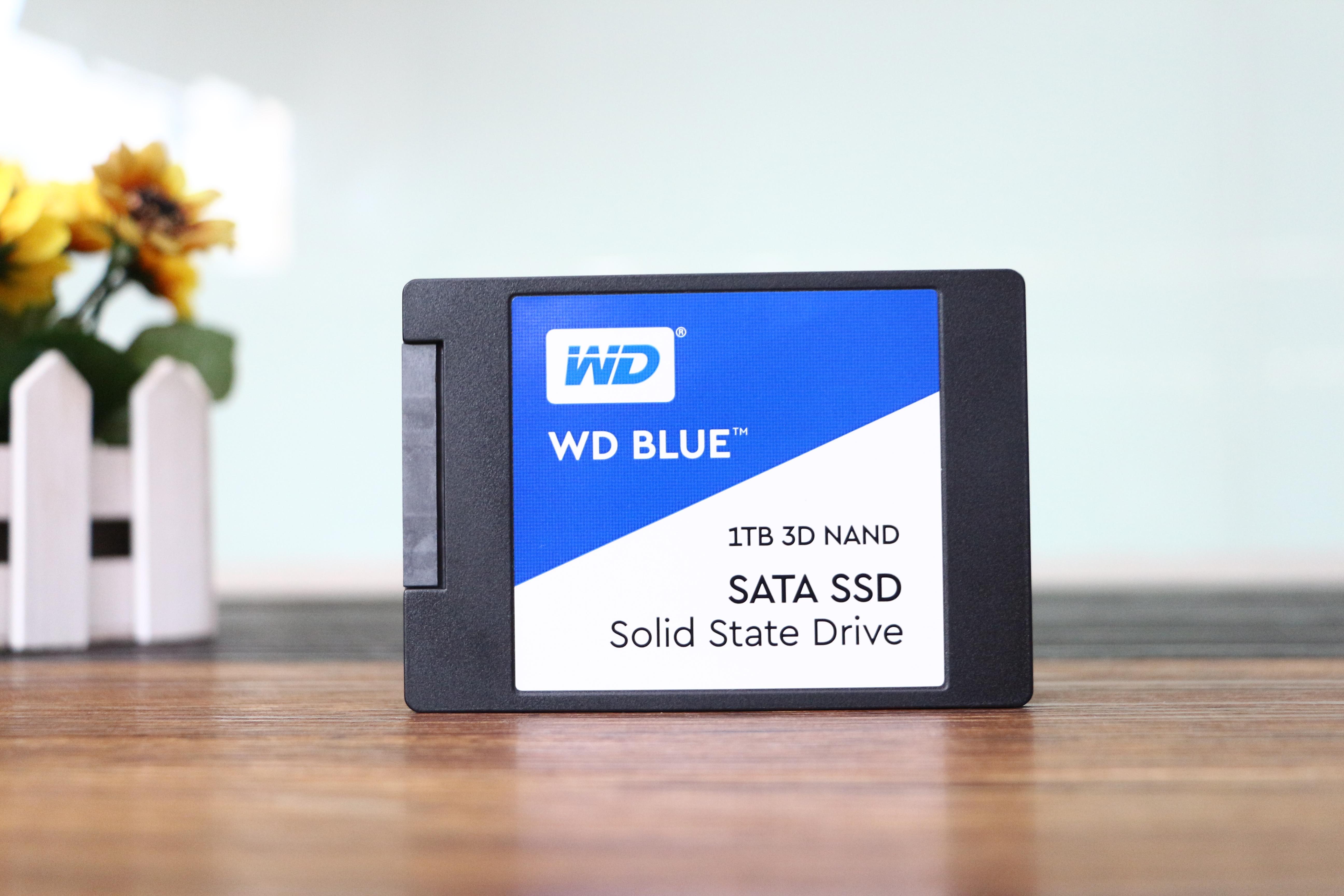 打造3D NAND SSD西部数据ITB蓝盘测试