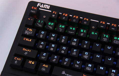 拒绝水土不服 法米光明使者机械键盘评测