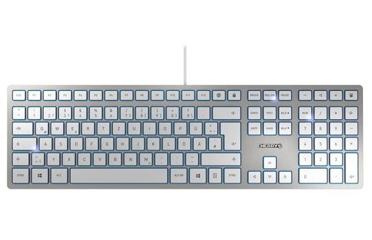 樱桃发布KC 6000 SLIM薄膜键盘:售价约300元