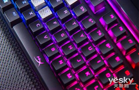 电竞之心 HyperX Alloy Elite阿洛伊精英版机械键盘
