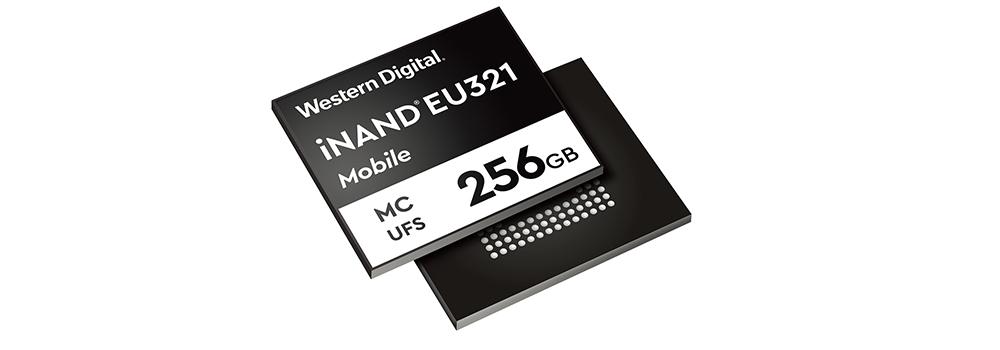 面向高端手机 西部数据发布96层3D NAND UFS 2.1嵌入式闪存盘