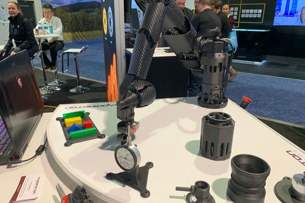 CES2019:Markforged携3D打印机械手臂亮相