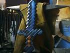 国外炼金术士锻造《我的世界》版钻石剑!