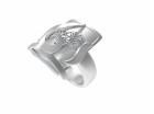 中国手工艺大师南鲁魏跨界3D打印,【尘・光】系列戒指诞生