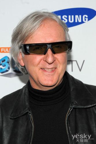 三星3D电视全球首发 卡梅隆亲临现场祝贺