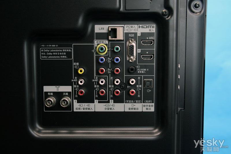 开拓LED新领域索尼EX700液晶电视详细评测