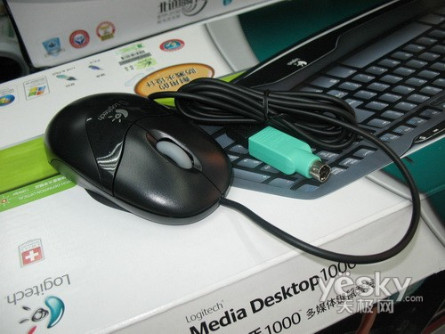 经济实惠 罗技光电高手1000键鼠套装仅129元