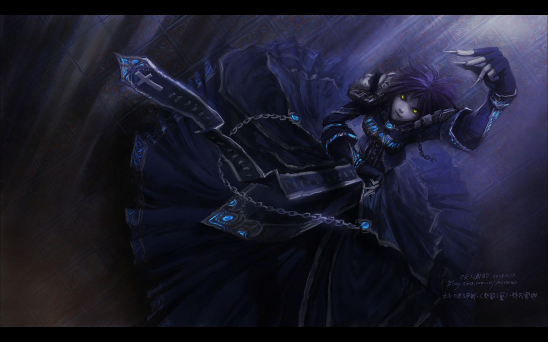 魔兽世界巫妖王的陨落壁纸