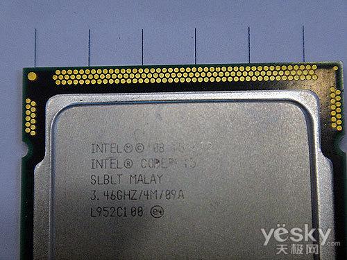 超节能的酷睿i5 酷睿i5 670处理器售1130元