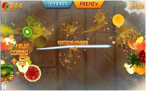 水果忍者电脑版(切水果游戏)截图4