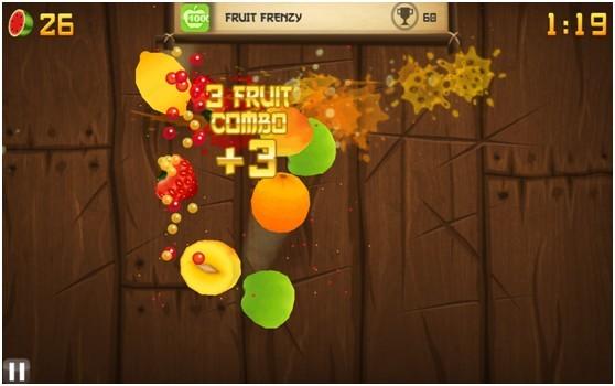 水果忍者电脑版(切水果游戏)截图1