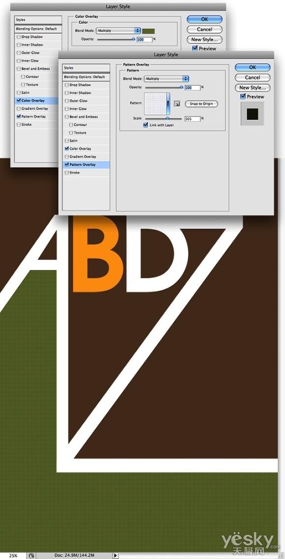 Photoshop和AI设计超酷复古风格字母海报_步骤__6