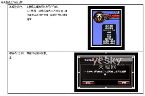 玄天之剑游戏系统介绍――PK系统