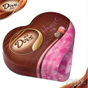 一盒德芙巧克力价格_情人节不寂寞 买铭鑫GTX560幻彩版送巧克力_天极网