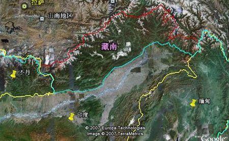 谷歌地图(S60五版)截图1