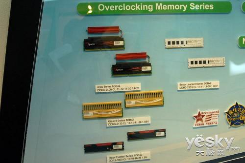 Computex2012:宇瞻全线存储产品带来新体验