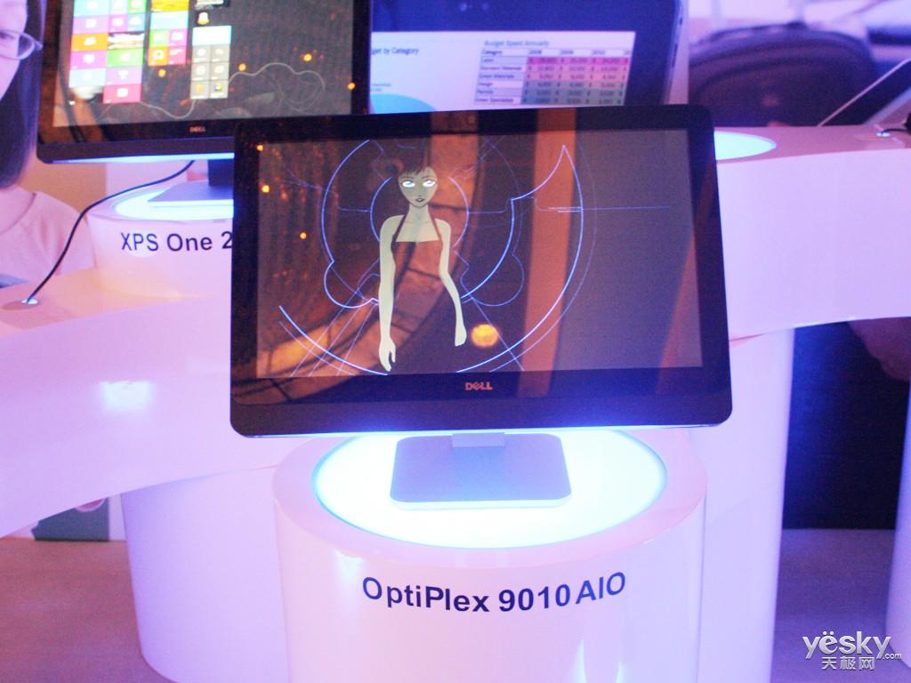 戴尔Win8新品抢先发布 两款一体机现场图赏