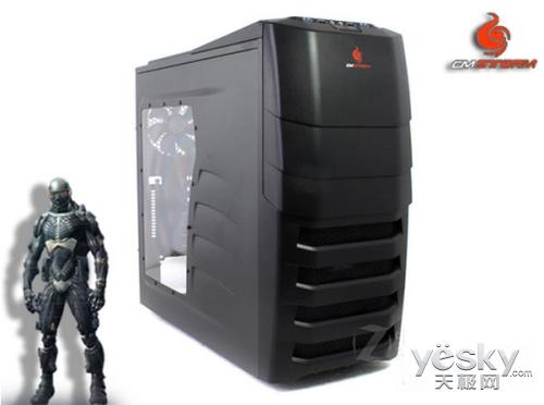 酷冷至尊装甲兵 加厚透明红光LED游戏机箱