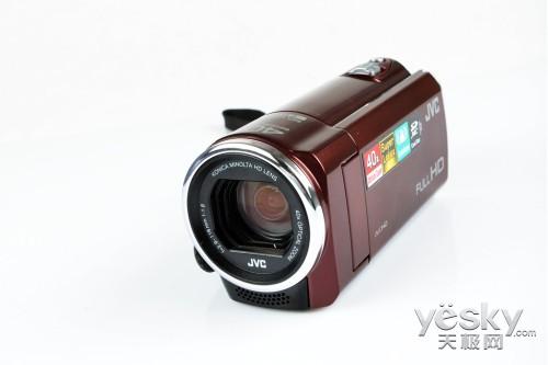 40倍光变&全高清 JVC E100数码摄像机评测