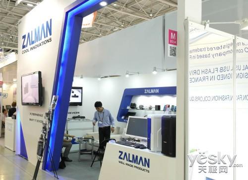 台北电脑展:扎曼多元化IT产品齐亮相