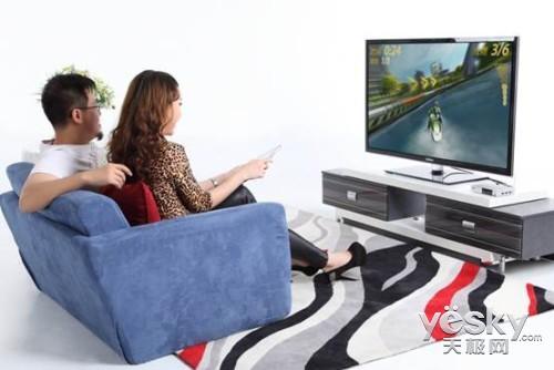 再爆海美迪Q5Ⅱ独家功能内置电视体感游戏