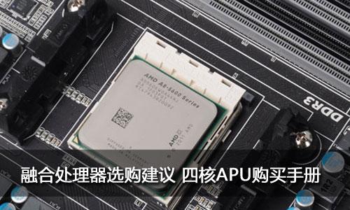 融合处理器选购建议 四核APU购买手册