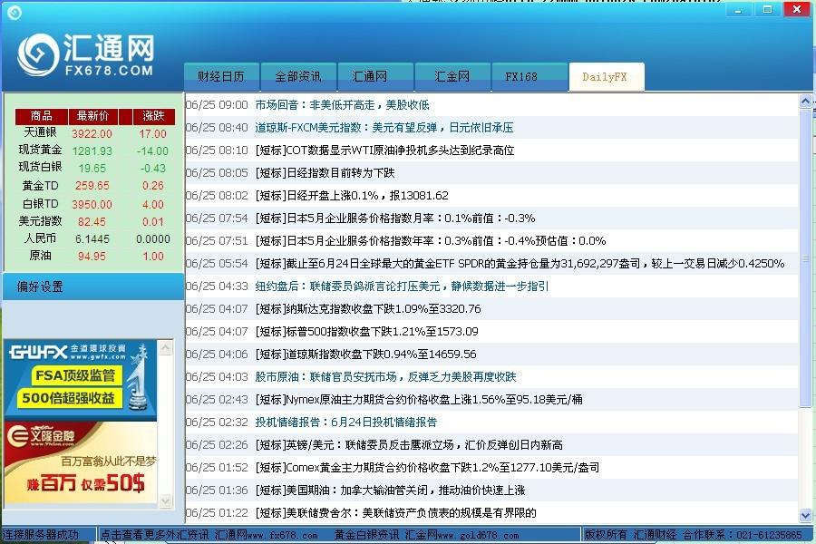 汇讯通外汇金融资讯软件截图3