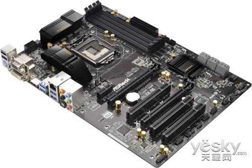 超越极限 华擎Z87 极限玩家3强板特价1099