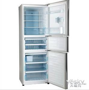 静音节能 松下NR-C26WP1-W冰箱冰点促销
