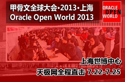 天极网直击甲骨文全球大会・2013・上海