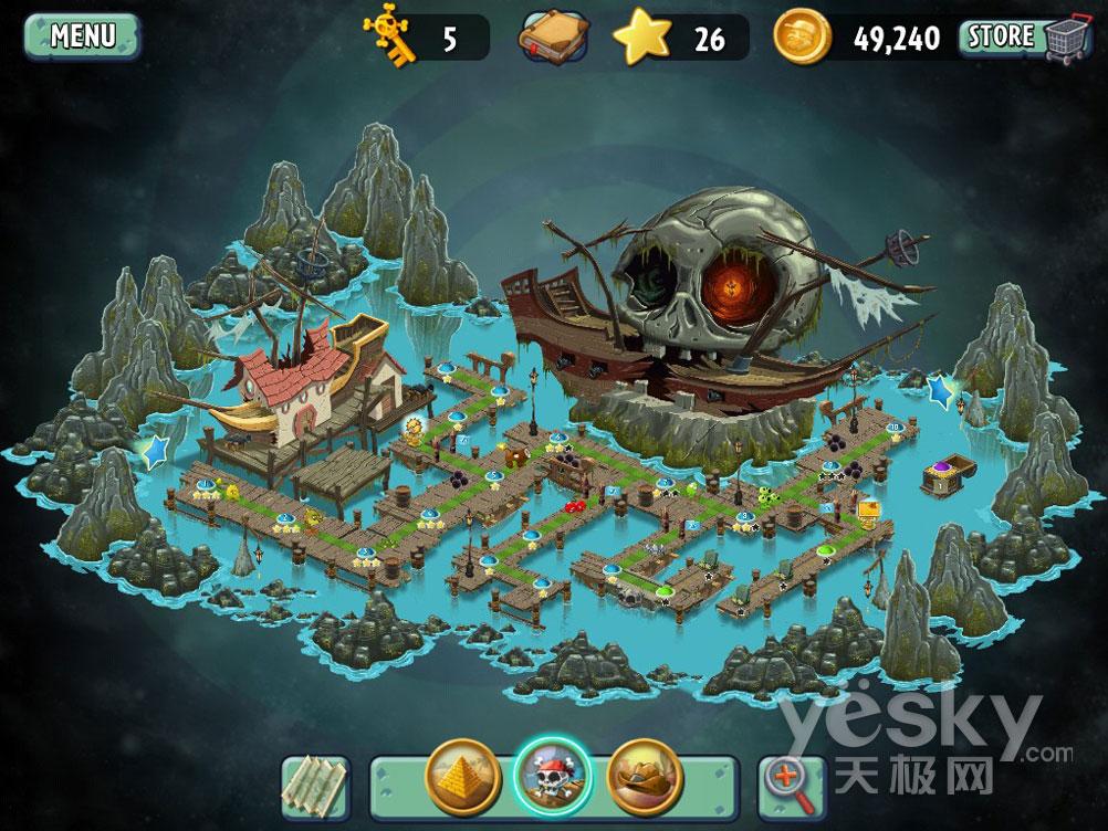 古海盗港湾地图