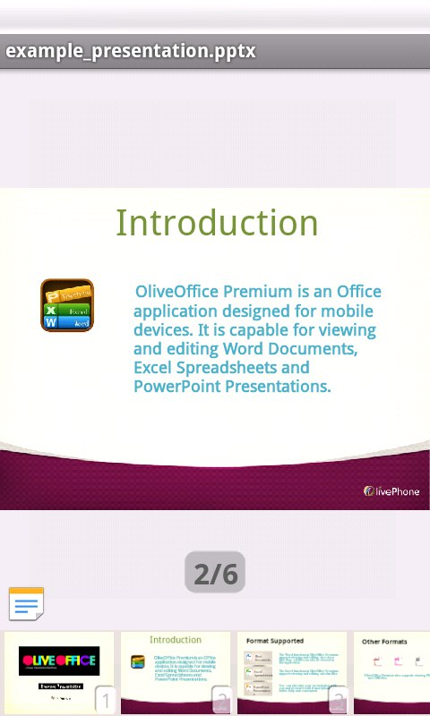 oliveoffice截图1