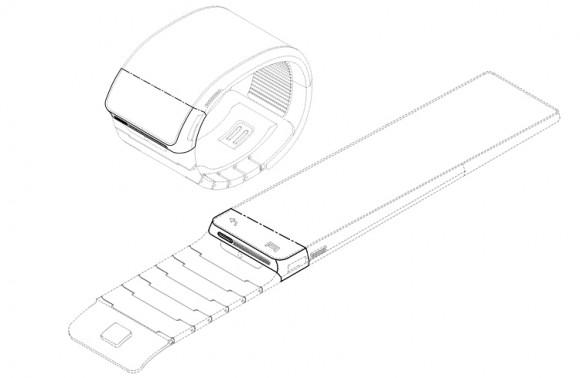 三星智能手表专利设计图