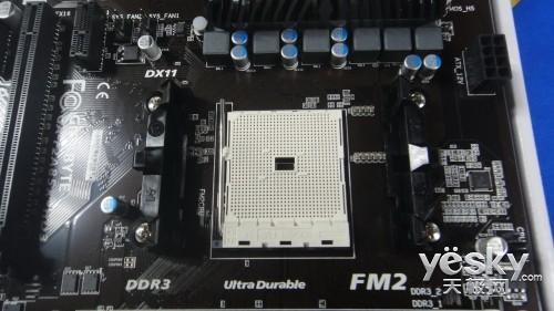 低价全能游戏主板 技嘉F2A85X-HD3售价749元
