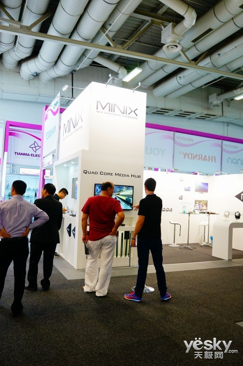 IFA2013:MINIX四核高清机打造多媒体中心