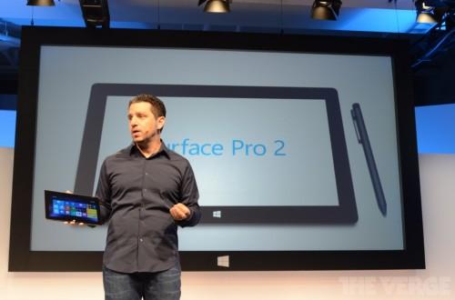 微软新品发布会:Surface Pro 2隆重登场
