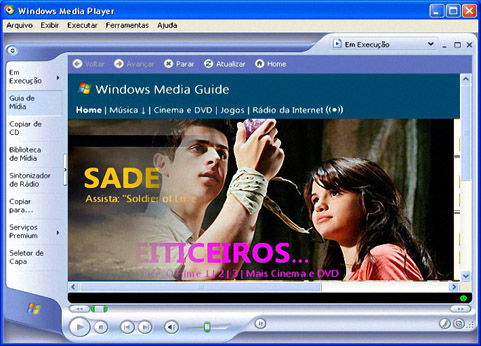 Windows Media Player 11截图1