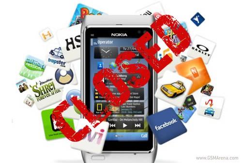 1月1日起诺基亚将停止支持Meego和Symbian